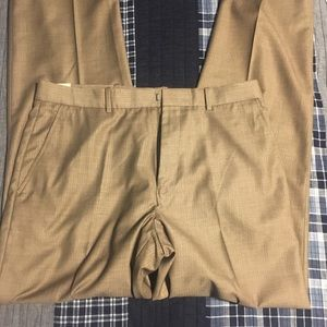 Light Brown Perry Ellis Dress Pants